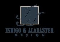 Indigo Alabaster Design Logo